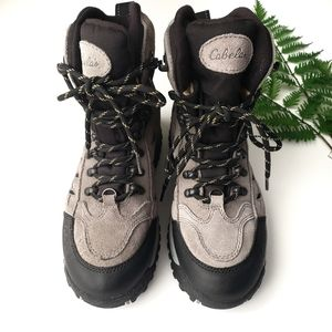 Cabella's Thinsulate Womans Hiking Boots Size 8.5